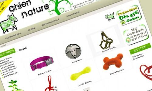 Boutique en ligne Chien-Nature