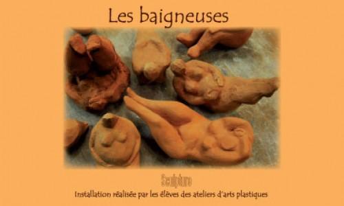 Sculpture Les Baigneuses