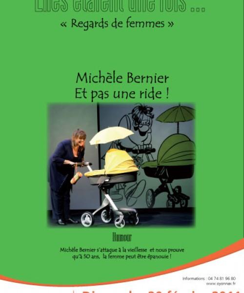 Spectacle Michèle Bernier