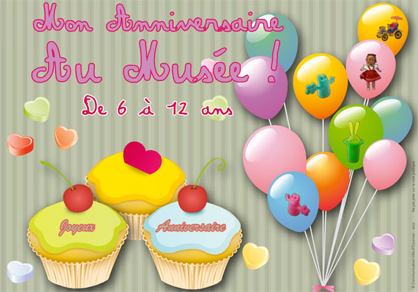 Cartes d'anniversaire et invitations