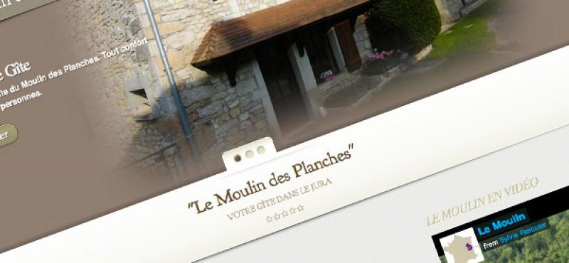 Gîte le Moulin des Planches